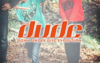 DUDE Clothing  Supports Kids Disc Golf