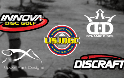 Premier Level Partners Announced | Innova Champion Discs | Dynamic Discs | Discraft | Upper Park Designs