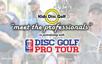 Meet The Professionals – DGPT | Kids Disc Golf