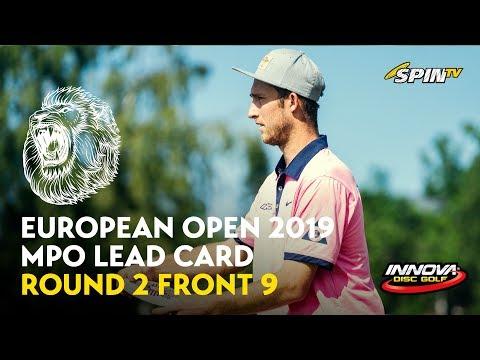 European Open 2019 MPO Lead Card Round 2 Front 9 (Nieminen, Wysocki, McBeth, McMahon)