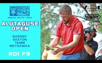 Innova Baltic Tour 2019, Alutaguse Open Round 1, Front 9 (Barsby, Sexton, Tamm, Metsamaa)