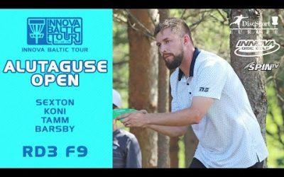 Innova Baltic Tour, Alutaguse Open, Final Round, Front 9 (Sexton, Koni, Tamm, Barsby)