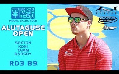 Innova Baltic Tour 2019, Alutaguse Open, Final Round, Back 9 (Sexton, Koni, Tamm, Barsby)