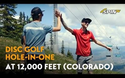 Disc Golf Hole in One (Kyle Griffin) – 2019 Kiss the Sky, Aspen, Colorado