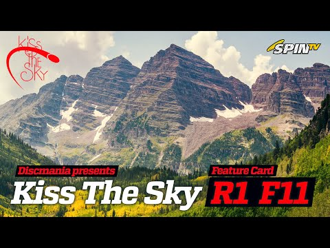 Discmania presents Kiss The Sky 2019 – Round 1, part 1 (McMahon, Rovere, Liebman, Kester)