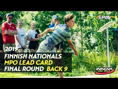 Finnish Nationals 2019 – MPO Final Round, Back 9 (Vikström, Heinänen, Räsänen, Nieminen)