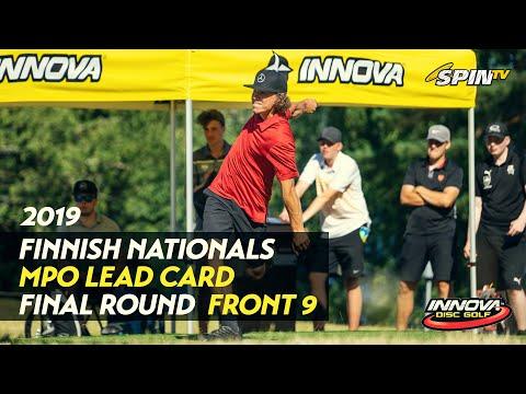 Finnish Nationals 2019 – MPO Final Round, Front 9 (Vikström, Heinänen, Räsänen, Nieminen)