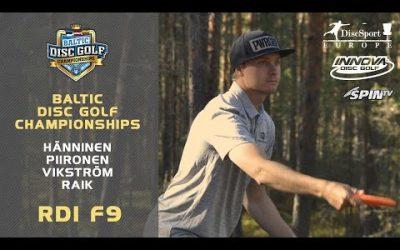 Innova Baltic Tour Championship 2019, Round1, Front 9 (Piironen, Vikström, Raik, Hänninen)