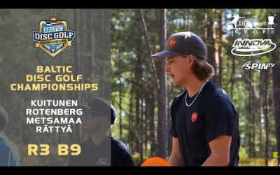 Innova Baltic Tour Championship 2019 – Final Round, Back 9