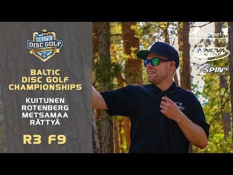 Innova Baltic Tour Championship 2019 – Final Round, Front 9