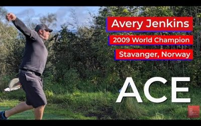 Ace by Avery Jenkins • Hole in One • Stavanger, Norway • Disc Golf Ace • Egeland Disk Golf Park