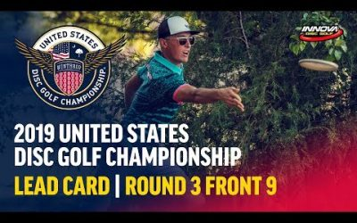 2019 USDGC – Lead Card Round 3, Front 9 (Clemons, Queen, Locastro, McMahon)