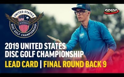 2019 USDGC – Lead Card Final Round, Back 9 (Conrad,  McMahon, Queen, Tamm)