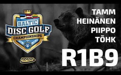 Innova Baltic Tour Championship 2020 – 1st Round, Back 9, Feature Card