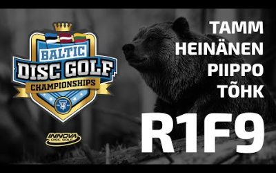 Innova Baltic Tour Championship 2020 – 1st Round, Front 9, Feature Card